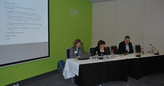 UNI Europa ICTS Outsourcing Project Workshop