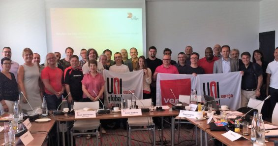 UNI Europa Graphical meets with DS Smith in Berlin