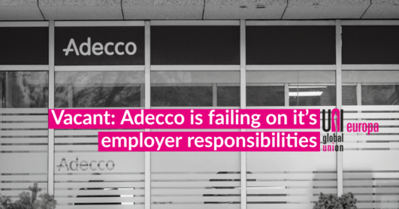 """Adecco: does the leading """"HR solutions"""" corporation see social dialogue as anything more than a PR exercise?"""