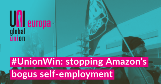Spanish Labour Inspectorate take action on Amazon's bogus self-employment
