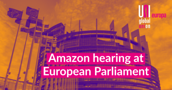 UNI blasts Amazon for refusing to testify before EU Parliament