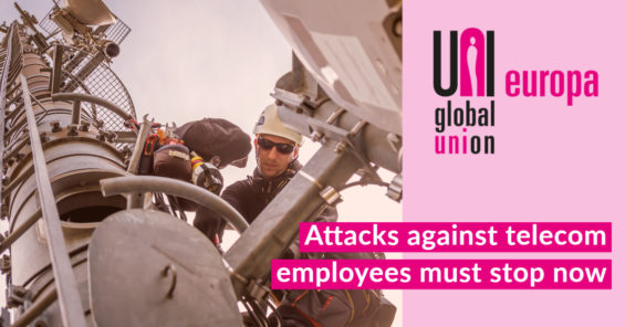 Attacks against telecom employees must stop now