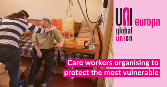 Care workers: organising to protect the most vulnerable
