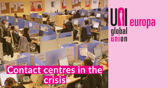 Contactcentres in thecrisis