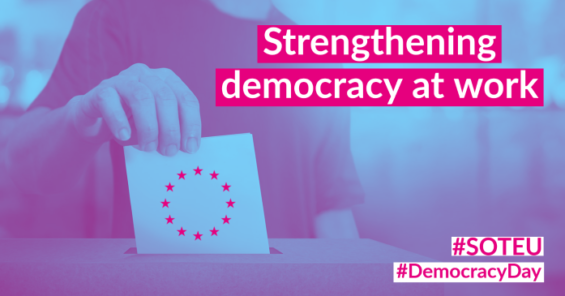 Democracy Day: if EU leaders are serious about protecting democracy, they must protect democracy at work