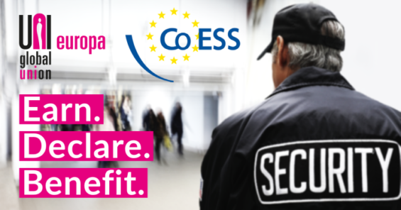 Earn. Declare. Benefit. – CoESS and UNI Europa Joint Statement for the European Campaign for Declared Work 2020