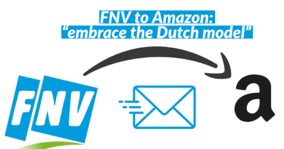 FNV lays out Dutch approach as Amazon opens first warehouse in Netherlands