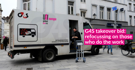 G4S European Works Council sends letter to shareholders