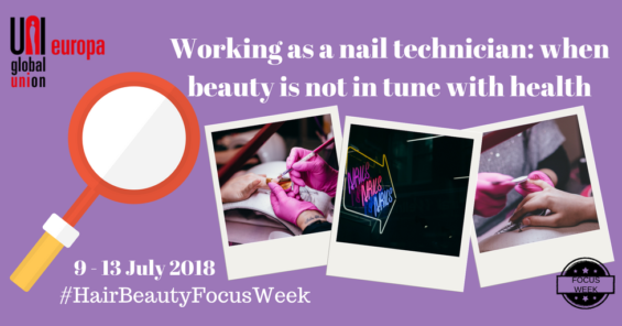 Hair and Beauty Focus Week – Working as a nail technician: when beauty is not in tune with health