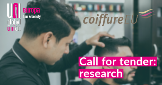 """Call for Tender:""""Promoting the autonomous implementation of the European framework agreement on occupational health and safety in the hairdressing sector"""""""