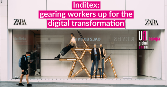 Digitalisation in retail: Inditex and European Works Council sign joint declaration