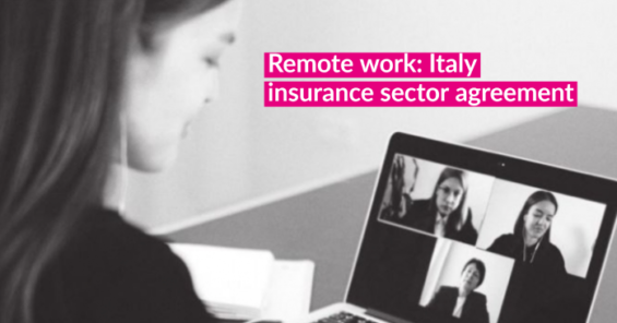 Italy's insurance sector unions sign landmark agreement on remote work
