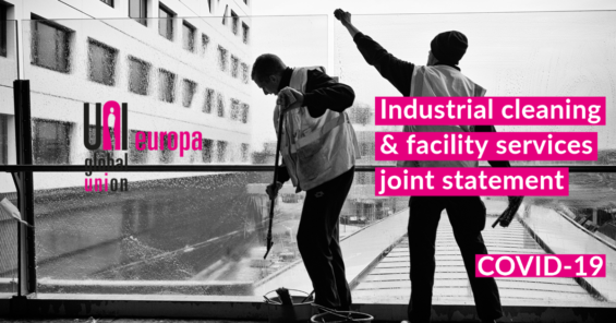 Joint Statement on the  Covid-19 impact to the Industrial Cleaning and Facility Services sector and the necessary measures to protect it