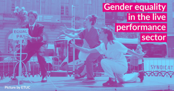 Gender equality in the live performance sector – taking stock of the impacts of the pandemic
