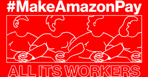 Make Amazon Pay: from the streets to the European Parliament