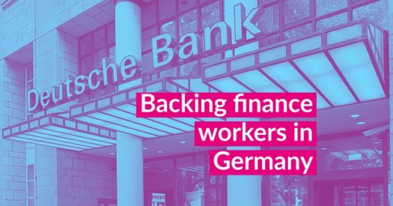 Defending the right to a collective agreement in Germany's banking sector