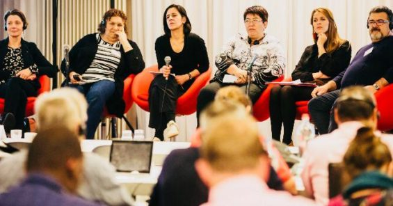Promoting gender equality remains high on the agenda at trade union congress in Belgium