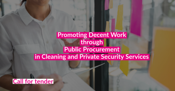 Call for tender: do you want to help promote Decent Work through Public Procurement?