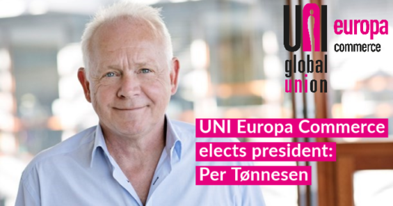 UNI Europa Commerce elects Per Tønnesen as President