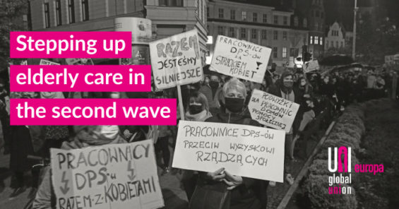 Essential care workers in Poland are winning decent pay