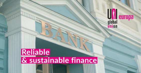 UNI Europa Finance & European banks commit to end sales pressure on employees