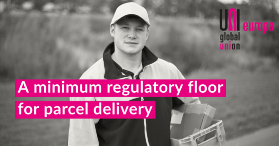 Postal trade unions respond to consultation on parcel delivery services