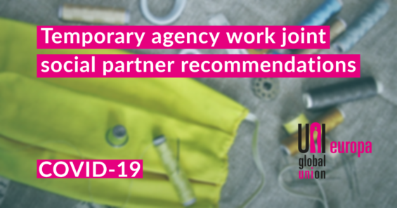 Joint Recommendations of the sectoral social partners of the temporary agency work industry