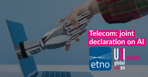 Artificial Intelligence: a blueprint for unions and telecom companies (joint declaration)