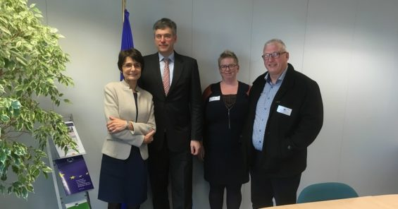 Constructive discussion with Commissioner Thyssen