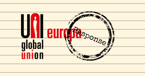 UNI Europa response to the European Commission consultation on AI ethics guidelines
