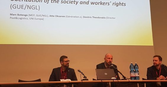 Uberisation of Society and Workers' Rights