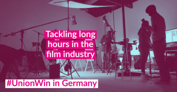 Sector agreement: film workers in Germany win improved working hours