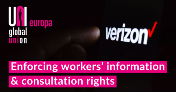 Verizon convicted for breach of European Directives in connection to the information & consultation process