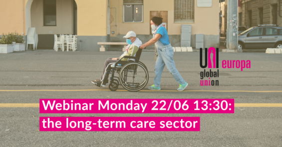 Webinar: the long-term care sector – a workforce and safety perspective