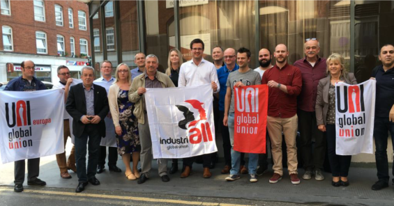 UNI and IndustriALL Global Unions lay foundation for WestRock World Trade Union Alliance