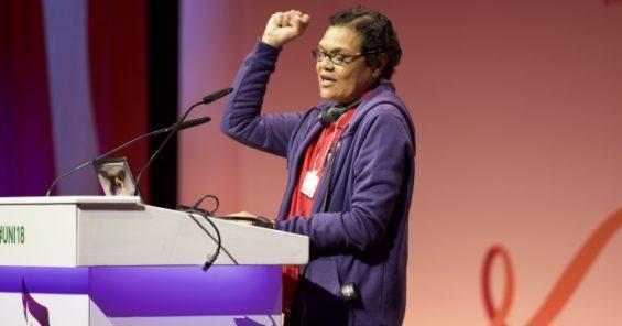 New UNI World Women's president – Patricia Nyman