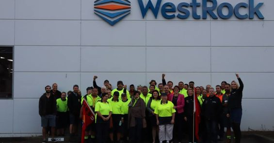 Solidarity with our Australian WestRock colleagues