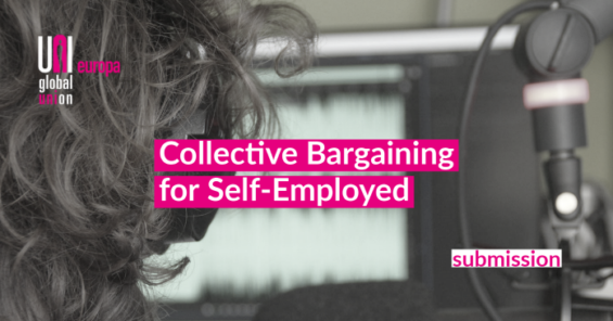 Self-employment – UNI Europa submission to the EU Commission