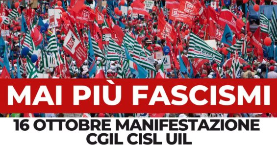In defence of democracy – from the streets of Rome, across Europe 📣 #MaiPiùFascismi